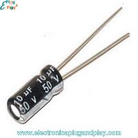 Condensador Electrolítico 10uF 50V