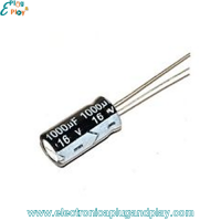 Condensador Electrolítico 1000uF 16V
