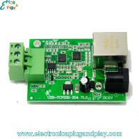 Conversor Industrial Bidireccional RS485 a Ethernet