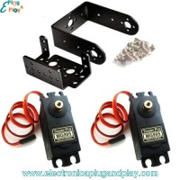 Kit Pan and Tilt con servos MG995
