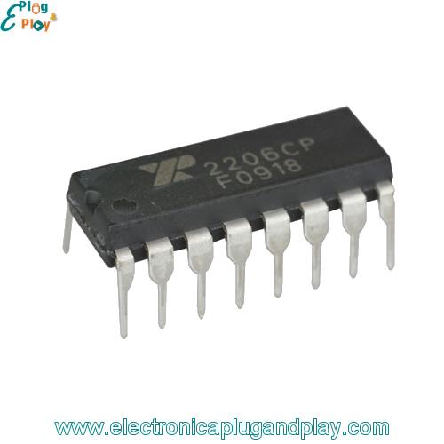 Circuito Xr2206 : Generador de funciones y señales xr en colombia