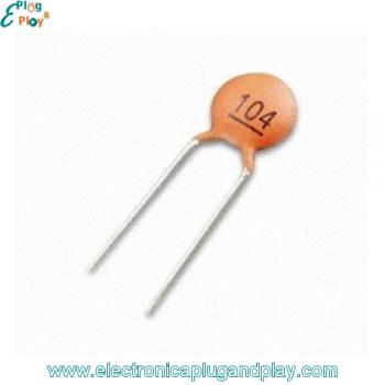 Condensador Cerámico 0,1uF 50V