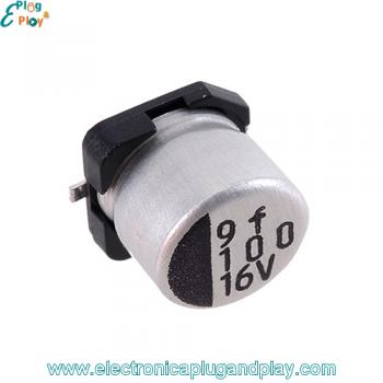 Condensador SMD Electrolítico 100uF 16V