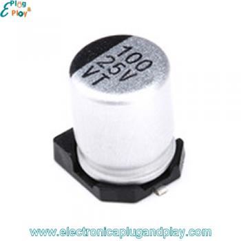 Condensador SMD Electrolítico 100uF 25V
