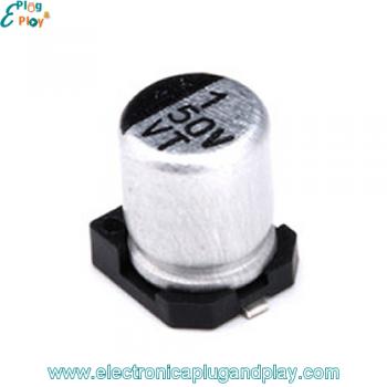 Condensador SMD Electrolítico 1uF 50V