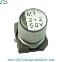Condensador SMD Electrolítico 2.2uF 50V