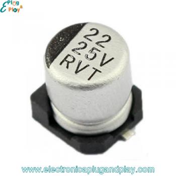 Condensador SMD Electrolítico 22uF 25V