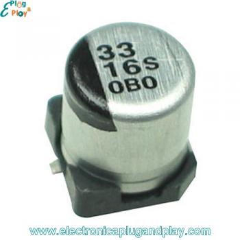 Condensador SMD Electrolítico 33uF 16V