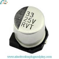 Condensador SMD Electrolítico 33uF 25V