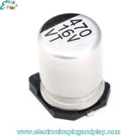 Condensador SMD Electrolítico 470uF 16V