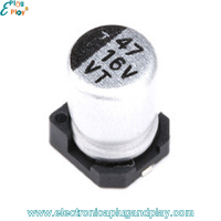 Condensador SMD Electrolítico 47uF 16V