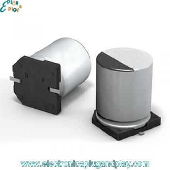 Condensador SMD Electrolítico 1000uF 6.3V