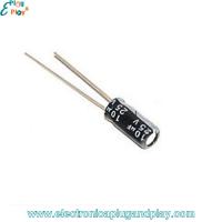 Condensador Electrolítico 10uF 25V
