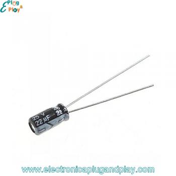 Condensador Electrolítico 22uF 25V