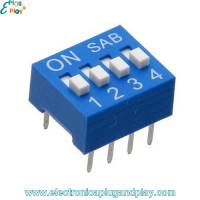 Dip Switch 4 Posiciones
