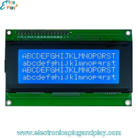 Display LCD 20X4 Interfaz I2C TWI 2004