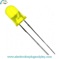 Led Difuso Amarillo 5mm.