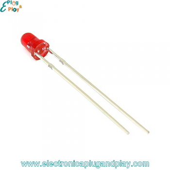 Led Difuso Rojo 3mm.