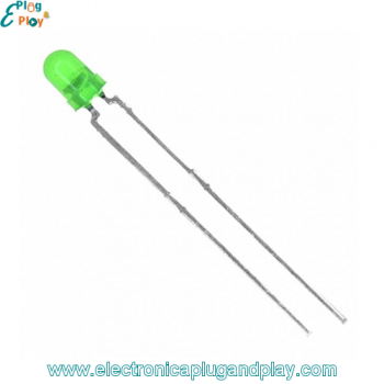 Led Difuso Verde 3mm.