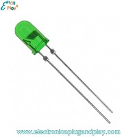 Led Difuso Verde 5mm.
