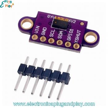 Módulo Sensor de Distancia Láser VL53L0X