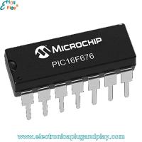 Microcontrolador PIC16F676-IP