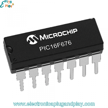 Microcontrolador PIC16F676-IP